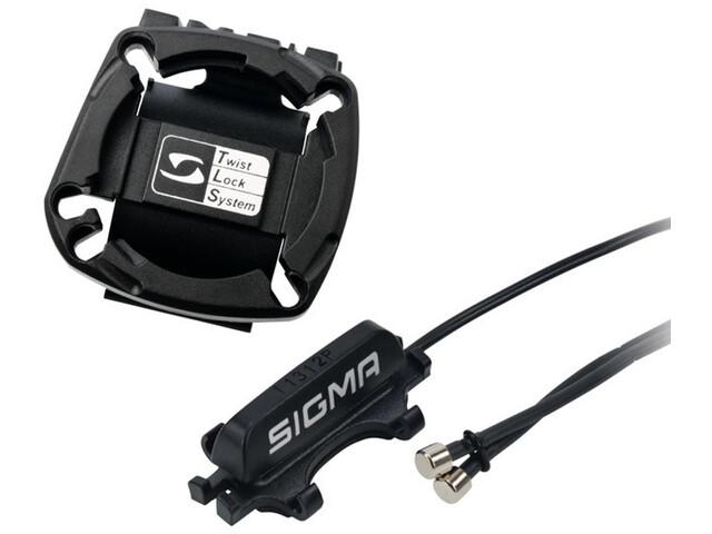 SIGMA SPORT 2032 Supports pour guidon câble inclus, black